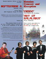 Russian Concert and Reception
